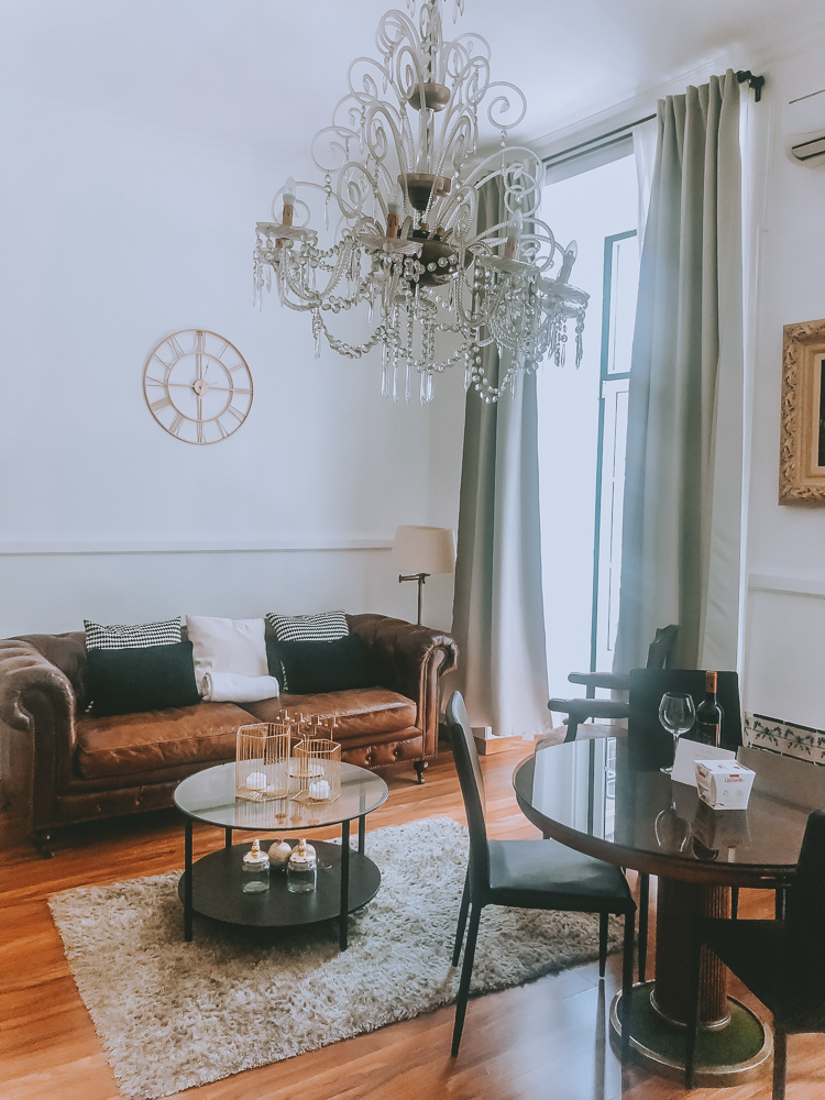 AirBnB Livingroom in Lisbon
